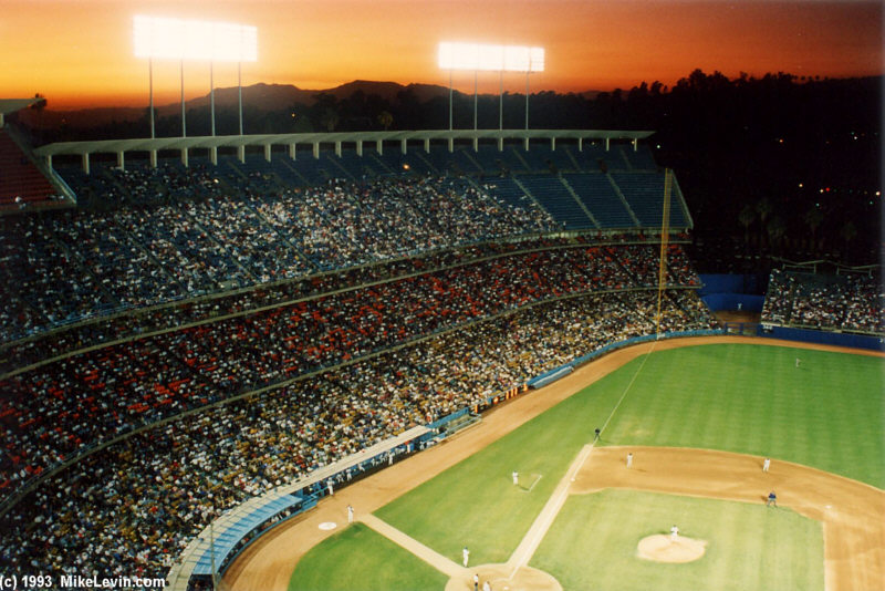 Dodgers Stadium. Dodger Stadium
