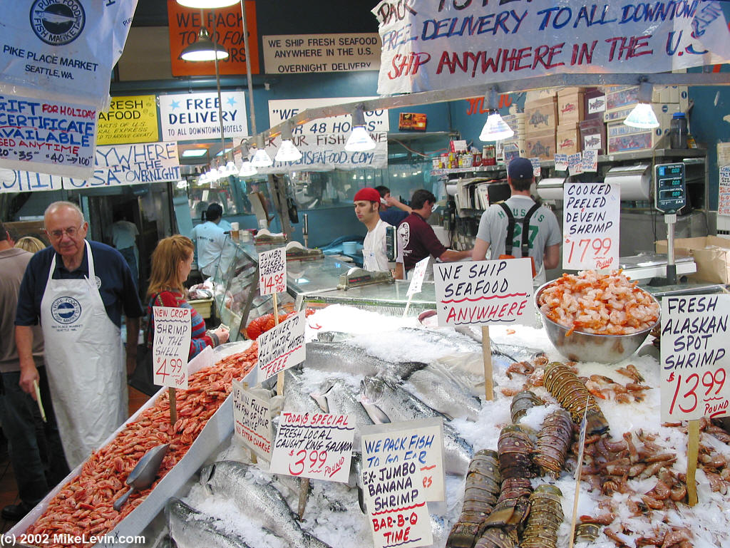 Best seafood markets in america the cookware review for Seafood fish market