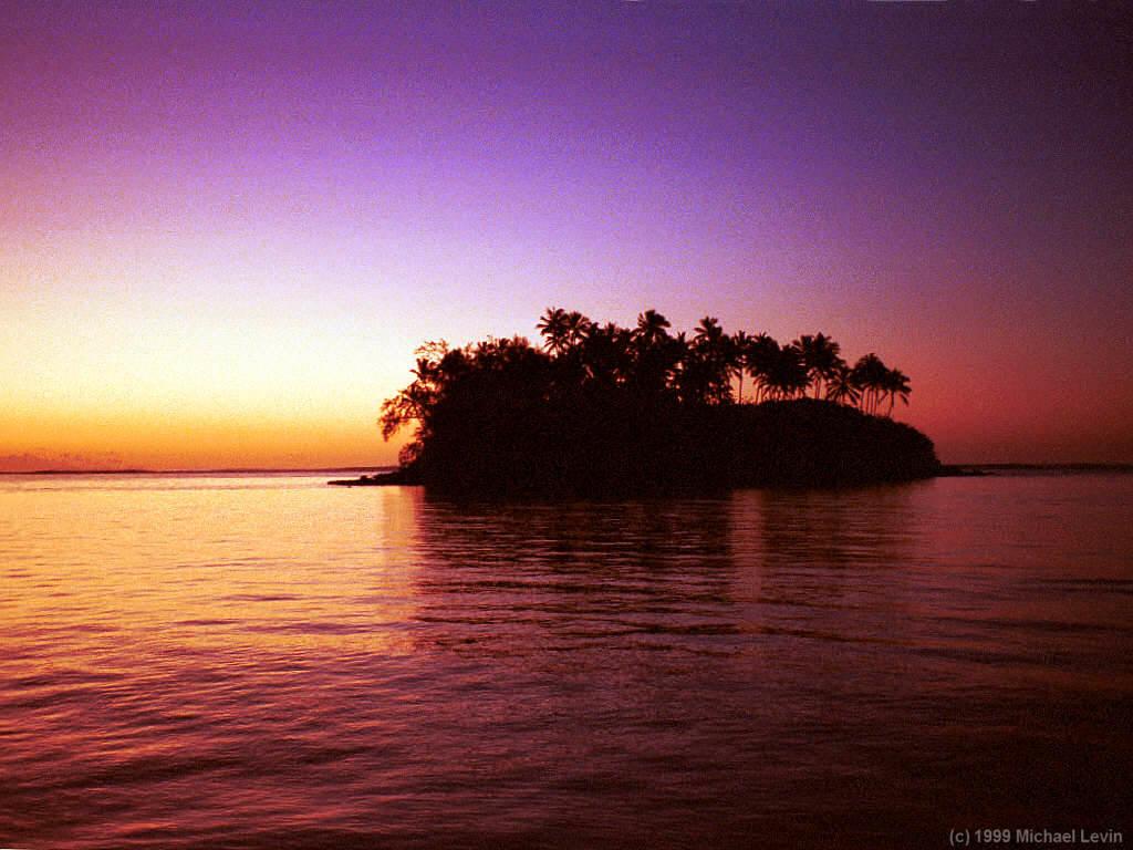 Sunrise Wallpaper Pemandangan Matahari Terbit
